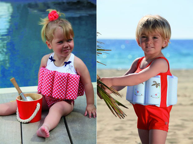 Costumi da bagno per bambini ecco i modelli di noukie 39 s per l 39 estate 2013 bimbochic - Bambini in costume da bagno ...