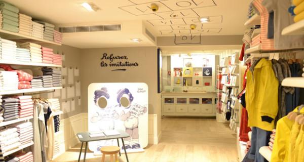 Petit Bateau inaugura la nuova boutique per bambini nel cuore di Parigi