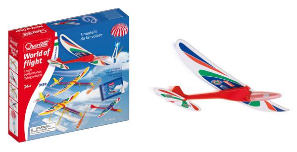 Giochi estivi volanti: fionda a missile, aliante o aereo? Ecco le proposte di Quercetti
