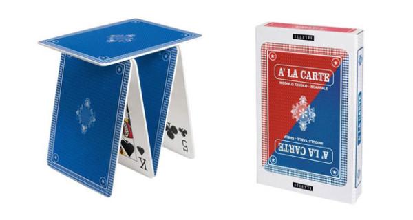 Tavolini per la cameretta o grandi castelli di carta? I mobili per bambini firmati Seletti