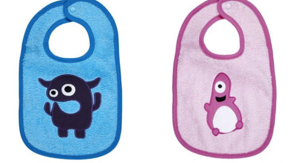Smithy presenta Little Monster: le bavaglie per bimbi