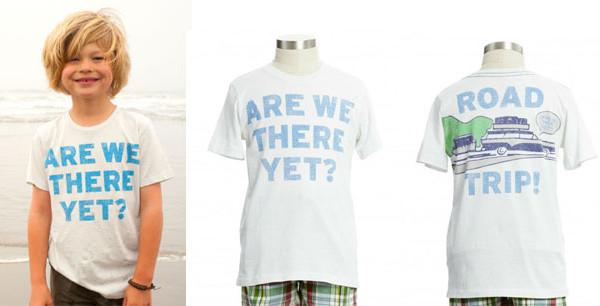 Peek Kids Clothing presenta la t-shirt perfetta per i viaggi estivi