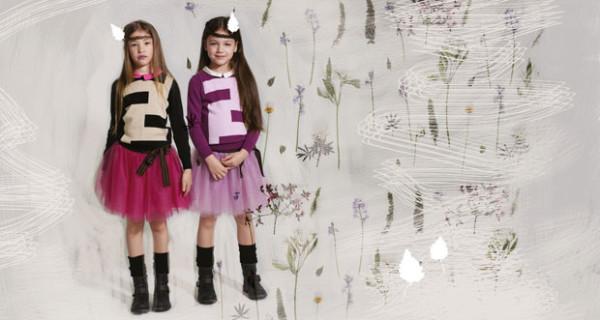 Fendi Kids svela la nuova campagna Autunno Inverno 2013-2014
