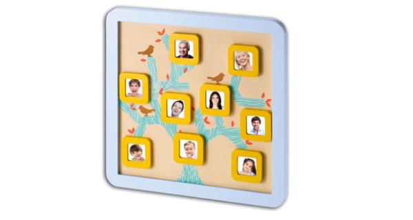Family Tree Frame di Baby Art: l'originale cornice ad albero genealogico
