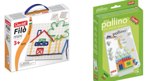 Quercetti presenta i giochi per bambini perfetti per il viaggio