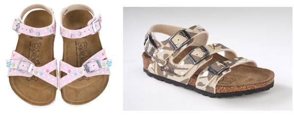 Sandali Birki's per bambini: i nuovi modelli per l'estate 2013