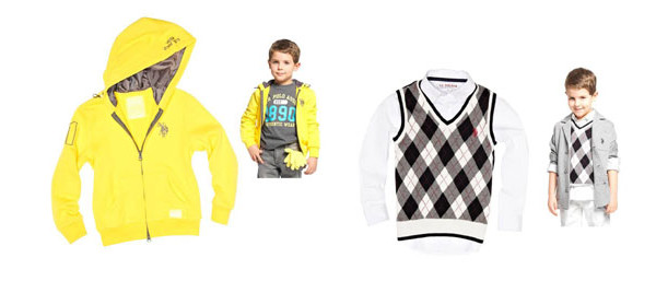U.S. Polo Assn: la collezione bambino autunno-inverno 2013-2014