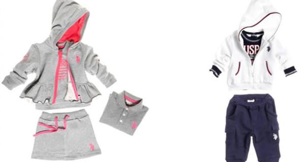 U.S. Polo Assn: nuovi abiti colorati e allegri per i bimbi