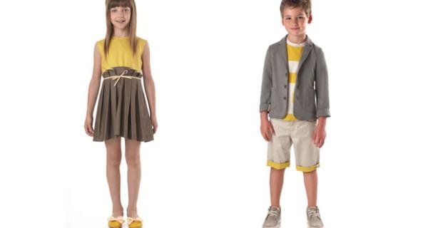 Modernità e tradizione per la collezione Primavera Estate 2014 di Fendi Kids