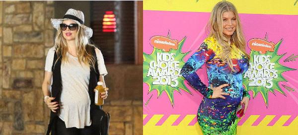Il look premaman di Fergie: comodo e alla moda in ogni occasione