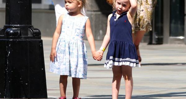 Le gemelline di Sarah Jessica Parker sfoggiano abitini fashion a New York