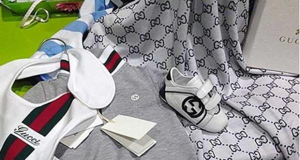 Guendalina Tavassi, shopping firmato per il bebè