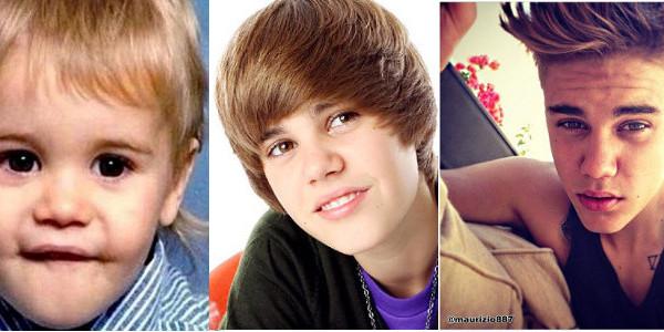 Justin Bieber quando era solo un bambino [Foto]