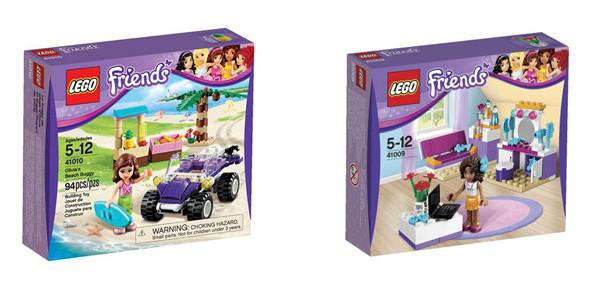 Lego Friends: due nuovi set dedicati alla Giornata Internazionale dell'Amicizia