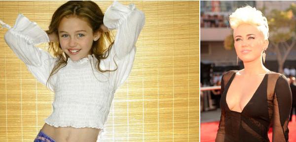 Miley Cyrus: ecco com'era da bambina [Foto]