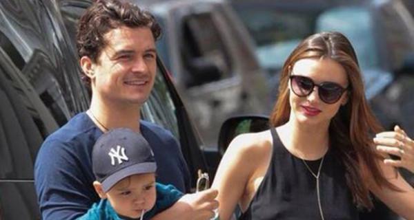 Ecco Flynn Cristopher, il figlio di Miranda Kerr e Orlando Bloom