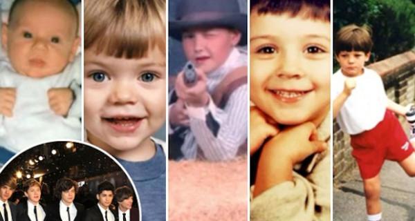 Gli One Direction prima di diventare famosi. Le foto di quando erano bambini
