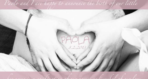 Laura Pausini festeggia i cinque mesi di Paola