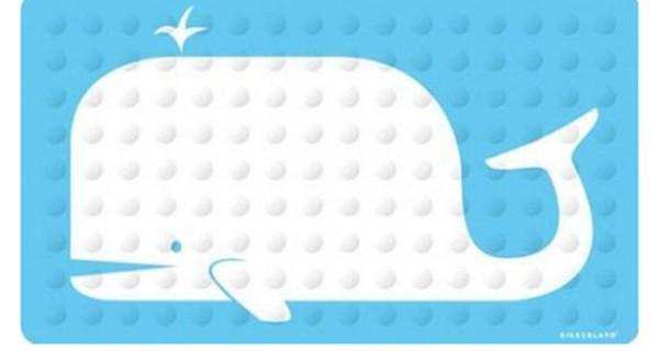 Fare il bagno in mezzo alle balene.. o quasi! Ecco il tappetino per la vasca