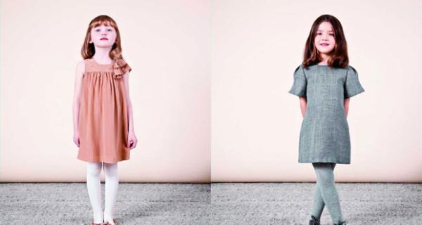 Chloé Collezione Autunno Inverno 2013 per bambina: colori pastello e dettagli preziosi