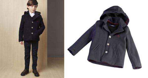 Cappottino in lana per bambino firmato Ferrari Store: perfetto per l'autunno