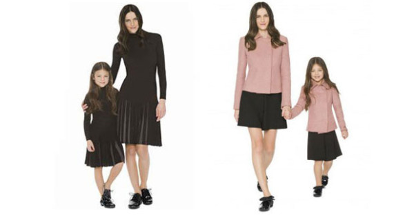Mini Me by Armani: mamme e bambine vestite uguali con la nuova capsule collection