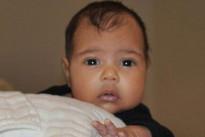 La prima foto di North, la figlia di Kim Kardashian e Kanye West