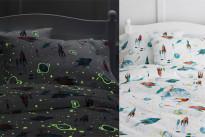 Il set per il letto che si illumina al buio: finalmente sonni tranquilli!