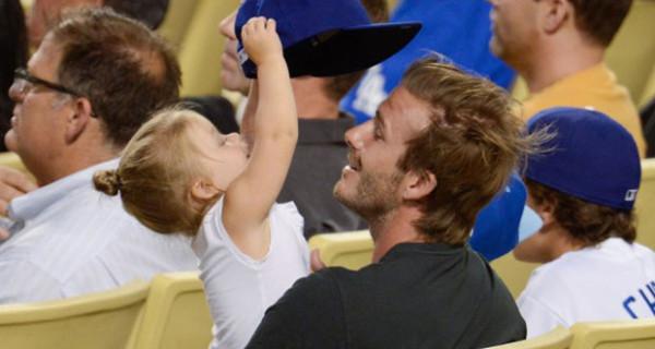 David Beckham e sua figlia Harper Seven: una coppia bellissima