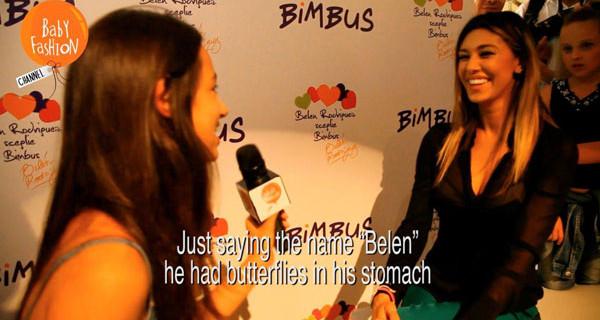 Belen Rodriguez intervistata dai bambini. Baby Fashion Channel arriva su Sky