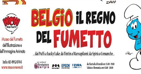 """Wow Spazio Fumetto presenta la mostra """"Belgio, il regno del Fumetto"""""""