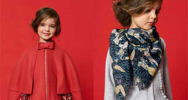 Cacharel Enfants presenta la collezione autunno inverno 2013 2014