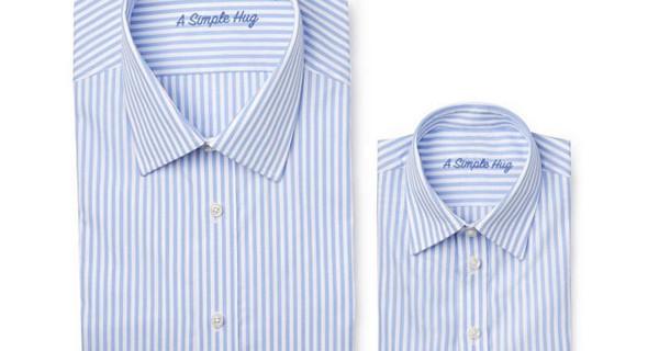 Camicia uguale per papà e figlio di A Simple Hug: una bellissima idea regalo