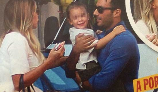 Guendalina Canessa e Daniele Interrante insieme per amore della figlia Chloe [Foto]