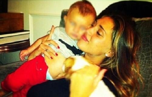 Cecilia Rodriguez e il suo amore per il piccolo Santiago