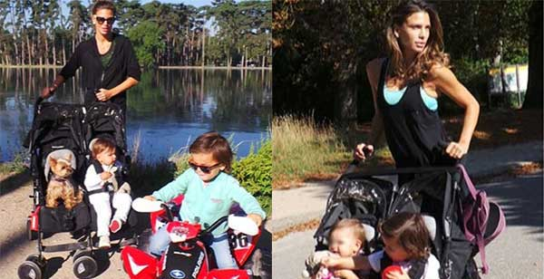Claudia Galanti, una mamma sempre in forma: le sue foto su Instagram