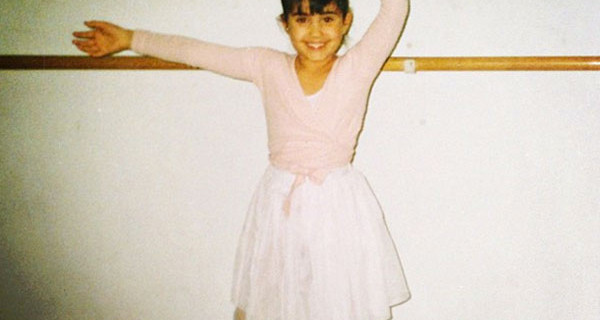 Federica Nargi da bambina, la foto mentre praticava danza classica