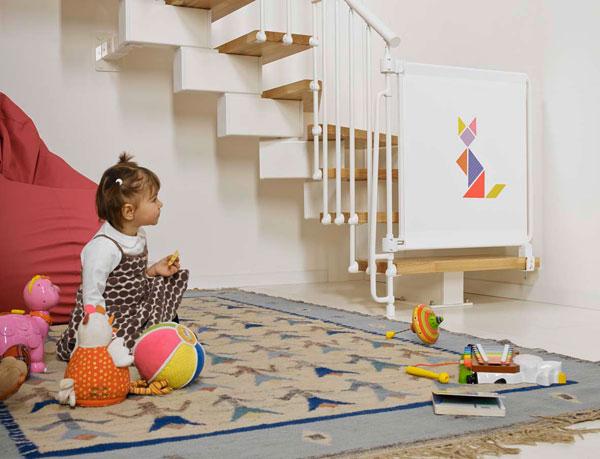 Cancelletto Per Bambini : Bambini più sicuri in casa con kalypto il cancelletto per