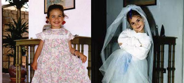 """Melissa Satta e le foto da bambina: """"Ero sempre alla moda, anche così piccola"""""""