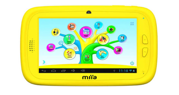 Miia Style presenta l'innovativo tablet per bambini