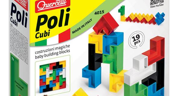 Prime Costruzioni by Quercetti: il primo gioco di costruzione non strutturata in plastica