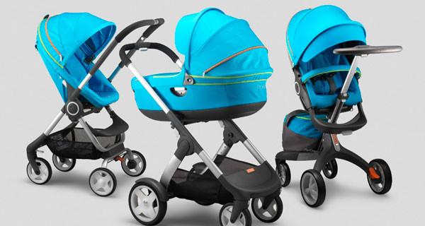 Stokke presenta i nuovi colori dei suoi passeggini: Beige Melange e Urban Blue