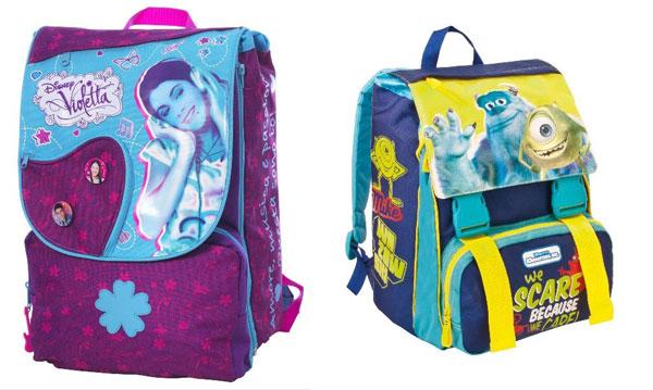 9c9111983a A scuola con gli zaini di Violetta, Peppa Pig e Monsters University
