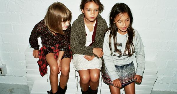 Zara Kids: i look della collezione Autunno Inverno 2013