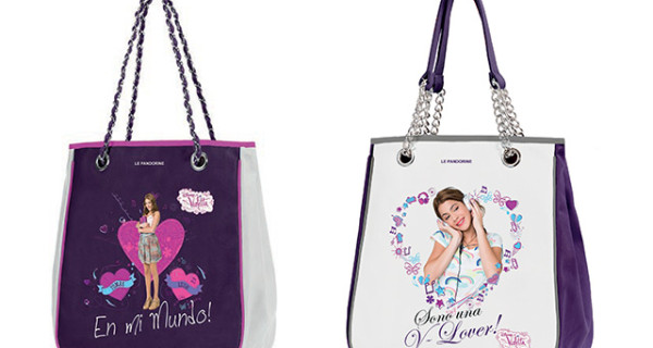 V di Violetta per la capsule collection Girl di Le Pandorine