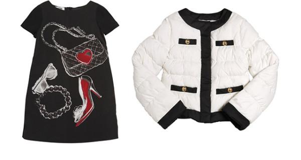 Moschino Teen: la Collezione Autunno Inverno 2013 per bambine alla moda