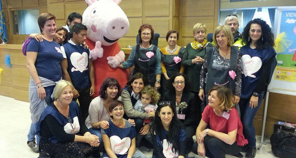 Peppa Pig porta il sorriso ai bambini in difficoltà grazie all'Allegria Tour. Date e info