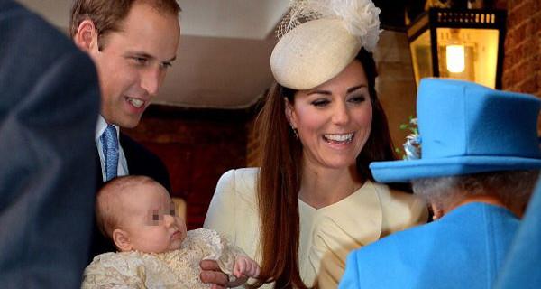 William, Kate Middleton e il Principe George: tutte le foto del battesimo del Royal Baby