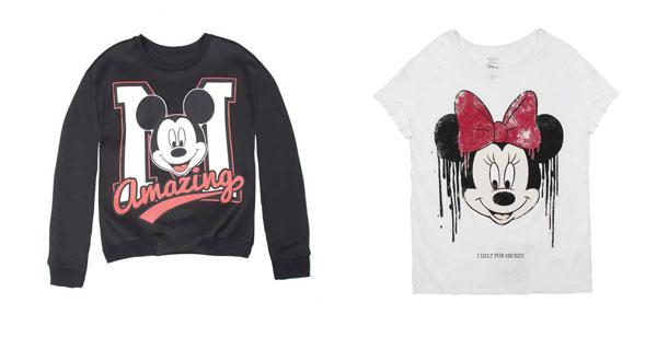 Bershka presenta la nuova capsule collection con Minnie e Mickey Mouse