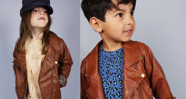 Biker Jacket di Mini Rodini: la giacca in pelle per bambini perfetta per l'autunno